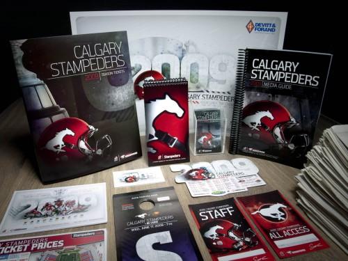 Calgary Stampeders 2009 Creative