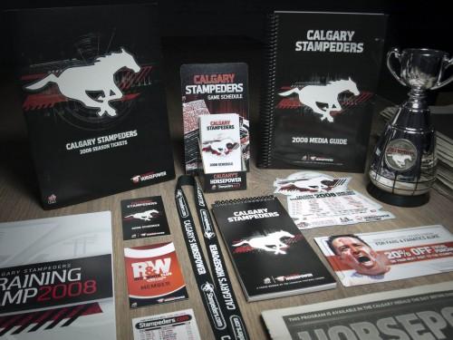 Calgary Stampeders 2008 Creative
