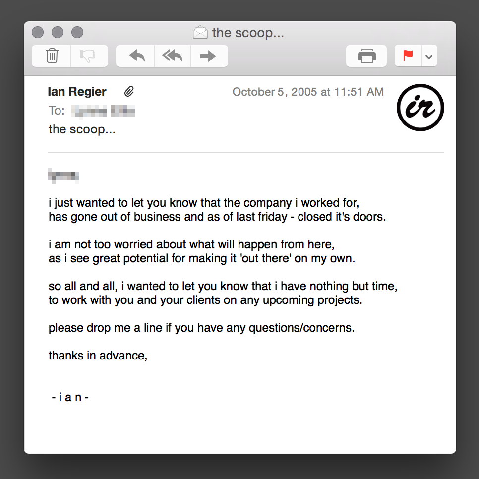 IRx10-Email